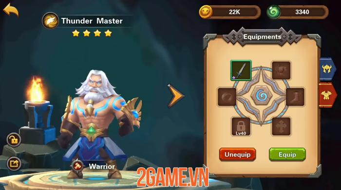 Amazing Wizards - Game nhập vai thẻ tướng có tính năng auto tiện lợi 2