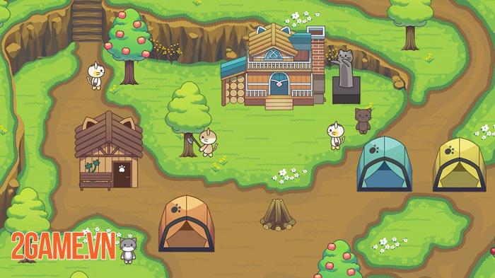 Cat Forest – Healing Camp: Khi loài mèo thống trị thế giới ảo trong game 1