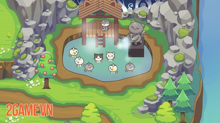 Cat Forest – Healing Camp: Khi loài mèo thống trị thế giới ảo trong game 3