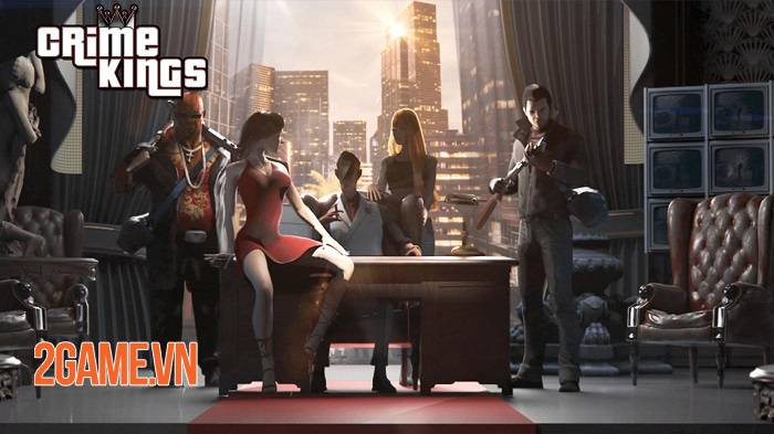 Crime Kings mô phỏng một thế giới Mafia ngầm giống như thật 0