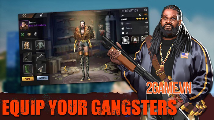Crime Kings mô phỏng một thế giới Mafia ngầm giống như thật 3