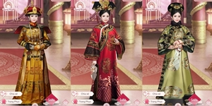 Cung Đấu Mobile phô diễn khí chất hoàng cung thông qua tủ thời trang nhìn là mê