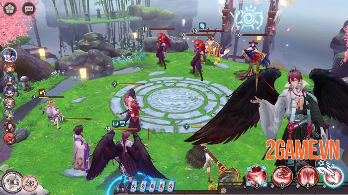 Top 11 game mobile lấy cảm hứng Âm Dương Sư Nhật Bản 1