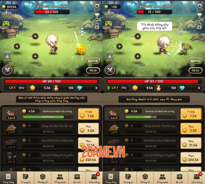 God of Attack mang lối chơi nhập vai hành động màn hình dọc cuốn hút bất ngờ 1