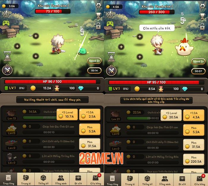 God of Attack mang lối chơi nhập vai hành động màn hình dọc cuốn hút bất ngờ 2