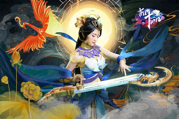 Tru Tiên 3D Mobile tung cosplay mừng phiên bản Mộng Ảo Thiên Hoa 2