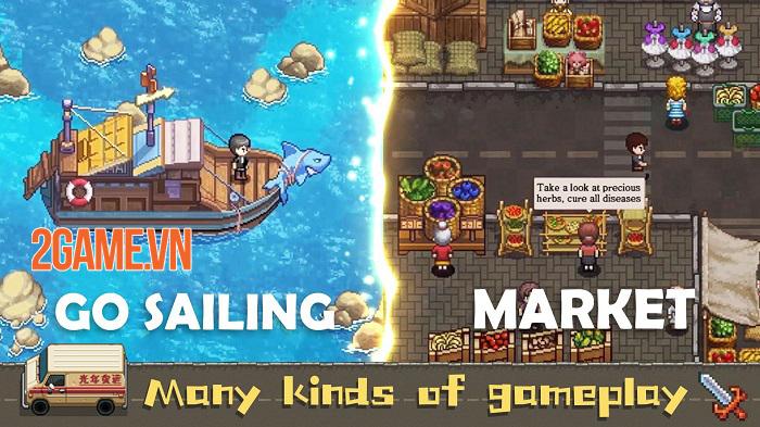 Harvest Town - Game nhập vai nông trại với đồ họa pixel  đầy màu sắc 2