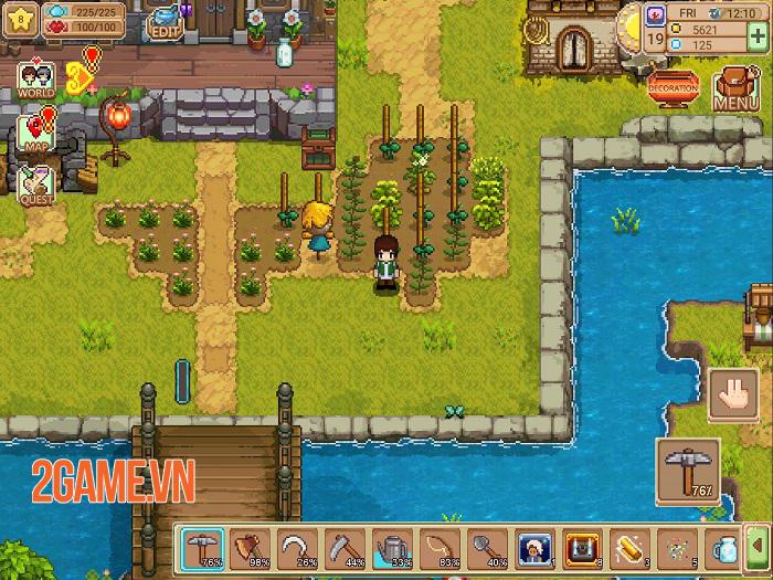 Harvest Town - Game nhập vai nông trại với đồ họa pixel  đầy màu sắc 1