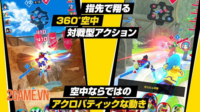 Kick Flight - Game MOBA không chiến mang đến những màn nhào lộn độc đáo 1