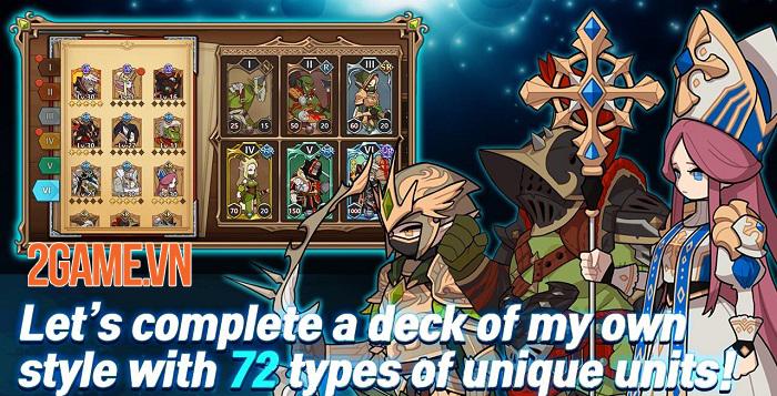 Kingdom Knights - Game thẻ bài với hơn 100 màn chơi đủ các thể loại 1