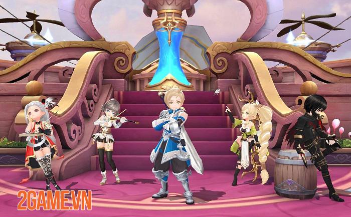 Light of Thel cho phép chuyển đổi tự do giữa 5 class nhân vật 1