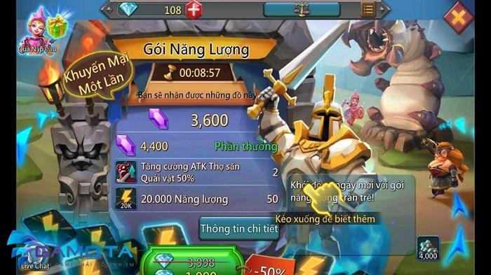 Lords Mobile cập nhật tính năng Đấu Trường Rồng cực đỉnh 1