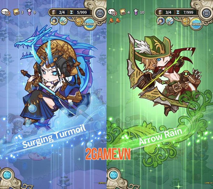 Luna Storia - Game đánh theo lượt đơn giản với đồ họa chibi đáng yêu 1