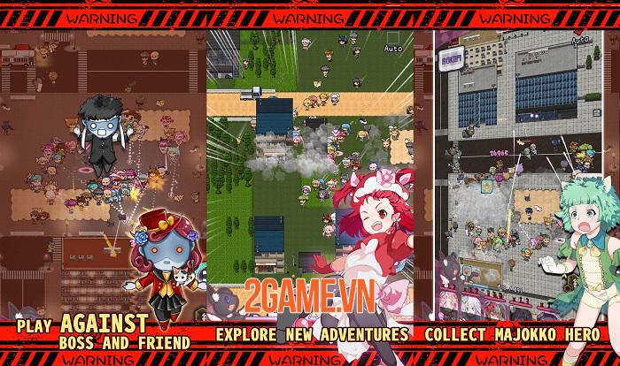 Magic Burns 9 Times - Game thẻ tướng lấy chủ đề manga anime Magical Girl 2