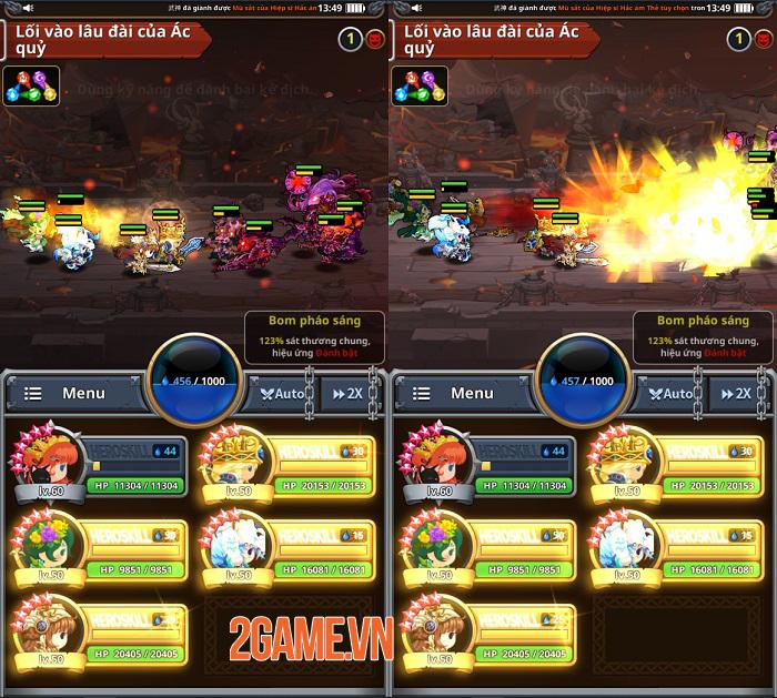 Dễ dàng điều khiển game nhập vai Medal Heroes chỉ bằng một tay 0