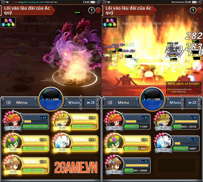 Dễ dàng điều khiển game nhập vai Medal Heroes chỉ bằng một tay 1