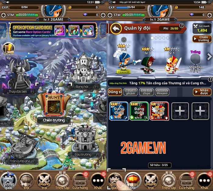 Dễ dàng điều khiển game nhập vai Medal Heroes chỉ bằng một tay 2