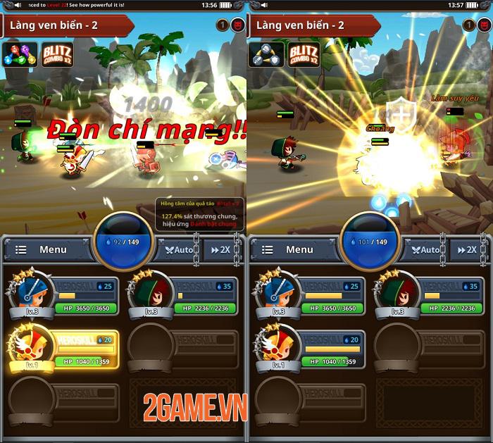 Dễ dàng điều khiển game nhập vai Medal Heroes chỉ bằng một tay 3