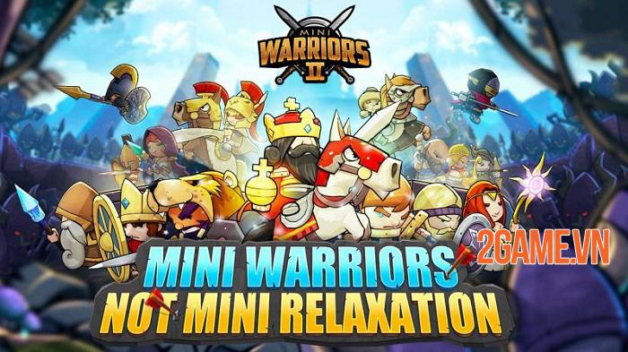 Mini Warriors 2 - Game Idle RPG hỗ trợ cả màn hình dọc và ngang 0