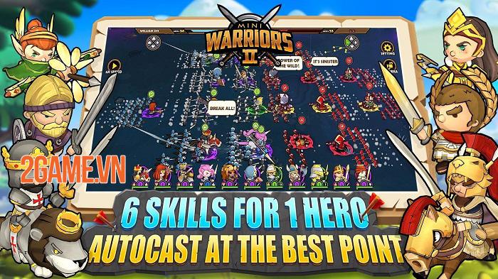 Mini Warriors 2 - Game Idle RPG hỗ trợ cả màn hình dọc và ngang 4