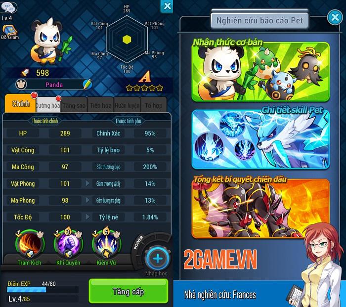Game mobile đấu Pet siêu hấp dẫn Pet Alliance 2 trở lại với ngôn ngữ tiếng Việt 4