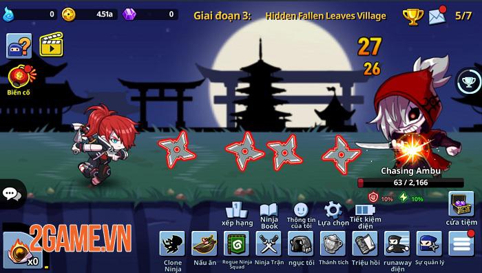 Rogue Ninja - Thế giới Ninja vui nhộn với những thử thách không giới hạn 3