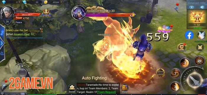 Với Rage of Gods việc cày cuốc game MMORPG 3D chưa bao giờ dễ dàng đến vậy! 2