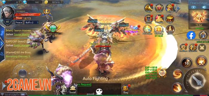 Với Rage of Gods việc cày cuốc game MMORPG 3D chưa bao giờ dễ dàng đến vậy! 3