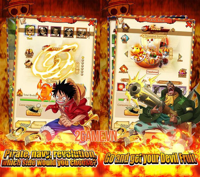 Sailing Adventure - Game One Piece màn hình dọc có đồ hoạ anime chất lượng cao 1