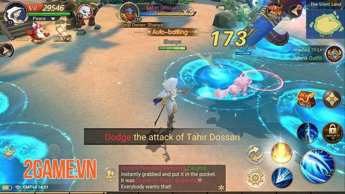 Sinbad: Great Adventures - MMORPG thế giới mở có thể tự định hình nhân vật 3