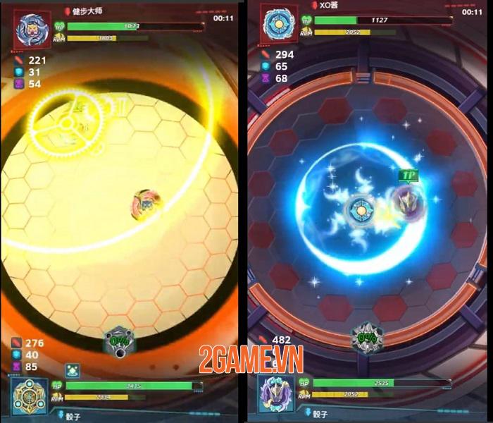 Spin Arena mô phỏng những trận chiến con quay thú vị 2