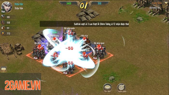 Vương Triều Tranh Bá sở hữu lối chơi SLG cực kỳ hack não 3
