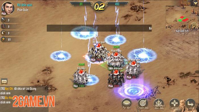 Vương Triều Tranh Bá sở hữu lối chơi SLG cực kỳ hack não 4