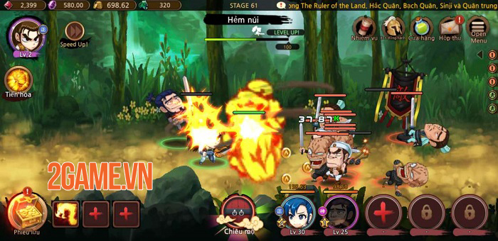 Game mobile Yulgang Rush - The Ruler of the Land đã hoàn tất khâu Việt hóa 3