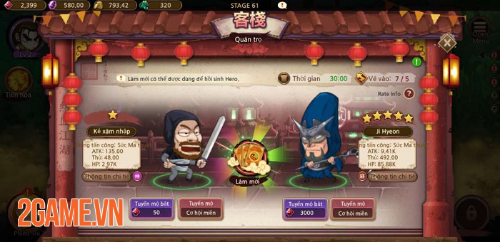 Game mobile Yulgang Rush - The Ruler of the Land đã hoàn tất khâu Việt hóa 1