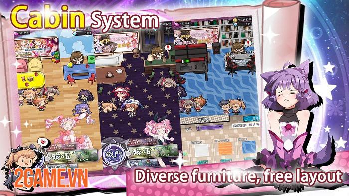 Magic Burns 9 Times - Game thẻ tướng lấy chủ đề manga anime Magical Girl 3