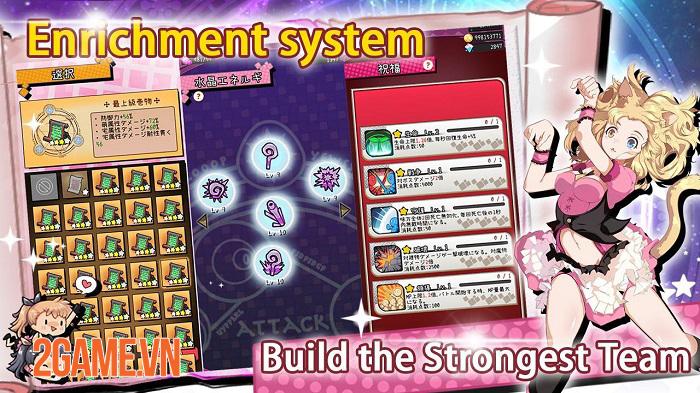 Magic Burns 9 Times - Game thẻ tướng lấy chủ đề manga anime Magical Girl 4