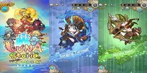 Luna Storia – Game đánh theo lượt đơn giản với đồ họa chibi đáng yêu