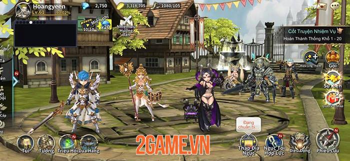 Game mobile hành động Soul Seeker R đã hỗ trợ tiếng Việt 4