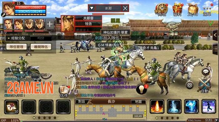 Three Kingdom M - Phiên bản mobile chính chủ của Tam Quốc Chí Online 3