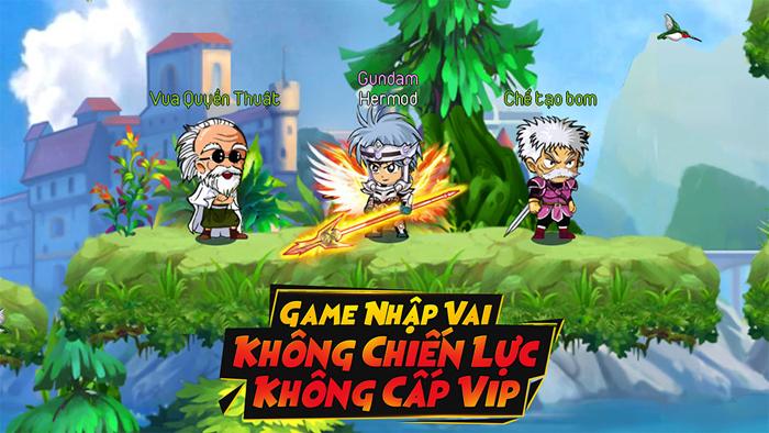 Dấu Ấn Rồng Mobile là game nhập vai không VIP, không Lực chiến 2