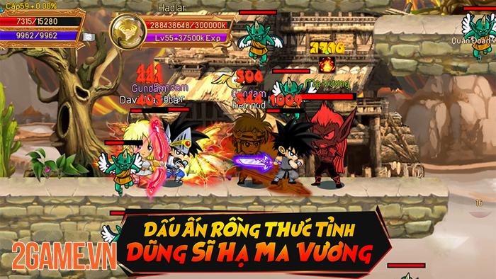Dấu Ấn Rồng Mobile là game nhập vai không VIP, không Lực chiến 3