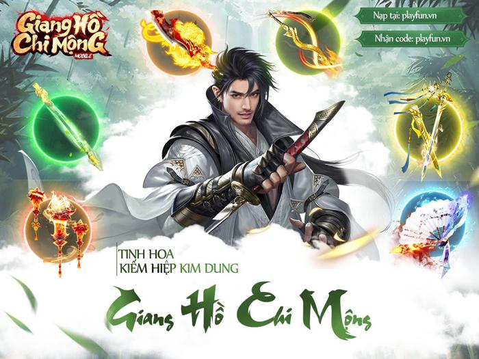 Tặng 888 giftcode game Giang Hồ Chi Mộng - Tuyệt Thế Võ Lâm 0