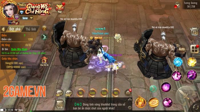 Game thủ vẫn miệt mài khám phá Giang Hồ Chi Mộng -  Tuyệt Thế Võ Lâm bản quốc tế 2
