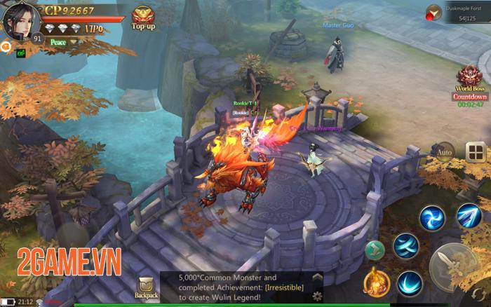 Game thủ vẫn miệt mài khám phá Giang Hồ Chi Mộng -  Tuyệt Thế Võ Lâm bản quốc tế 3