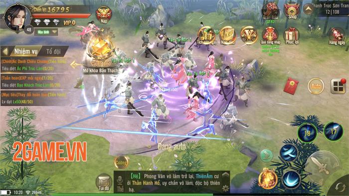 Giang Hồ Chi Mộng - Tuyệt Thế Võ Lâm chật kín người chơi trong ngày đầu ra mắt 3
