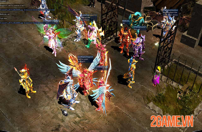 Dấu Ấn Rồng Mobile là game nhập vai không VIP, không Lực chiến 0