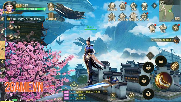 Ngự Kiếm Mobile - Game nhập vai 7 phái cập bến Việt Nam 3