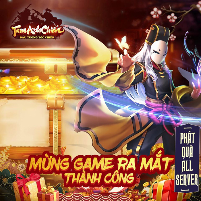 Tặng 888 giftcode game Tam Anh Chiến Mobile 0