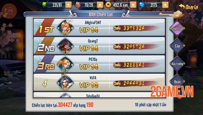 Game Tam Anh Chiến Mobile thu hút hàng loạt tay chơi đại gia 3